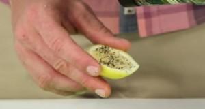 Ставете бибер на лимон – еве што лечи за час