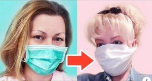Заштитна маска од хартија – направете сами за 2 мин